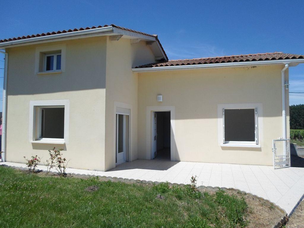 Location maison st emilion maison 107m2 for Taxe construction maison